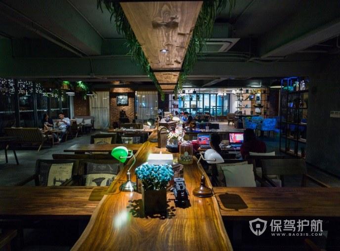 后现代时尚休闲咖啡厅装修效果图