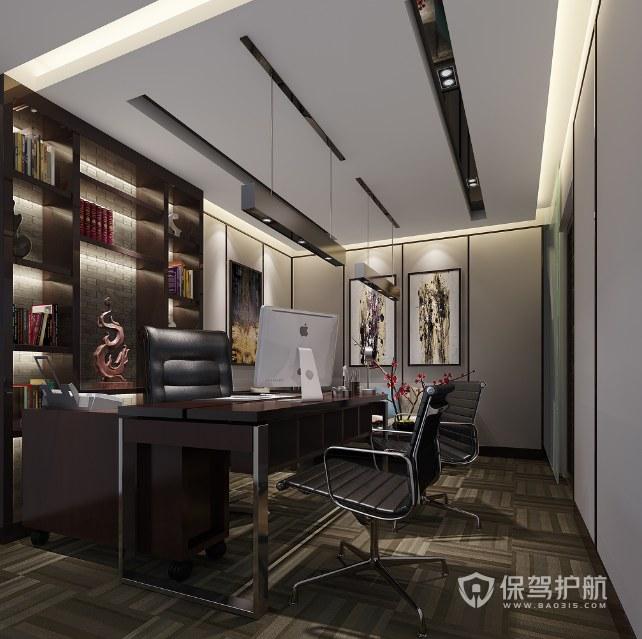 中式底蕴领导办公室装修效果图