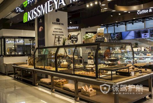 59平米现代风格糕点店商品柜装修效果图
