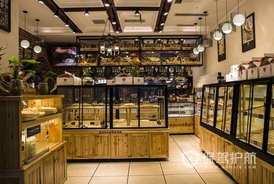15平米工业风格糕点店装修效果图