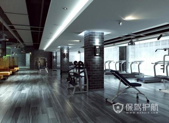 153平米簡約風格健身房裝修效果圖