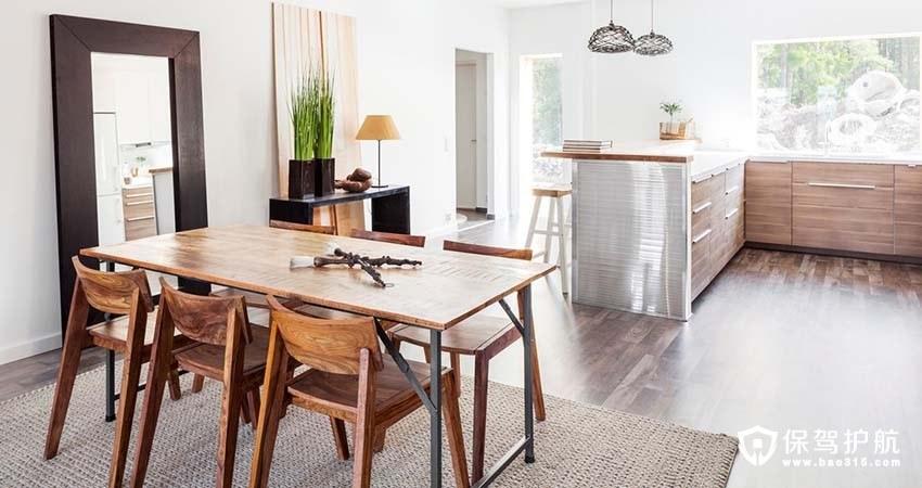 不拘小节的美式公寓三居室装修效果图