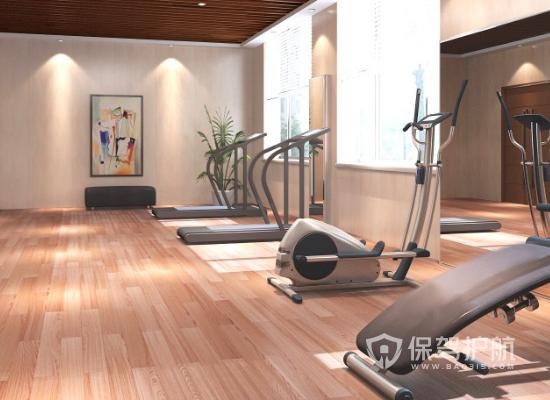 45平米小型簡約風格健身房裝修效果圖…