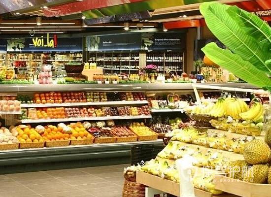 96平米小型现代风格超市装修效果图