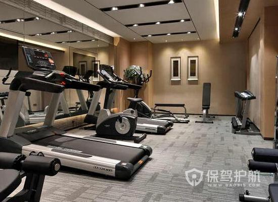69平米現代風格健身房裝修效果圖