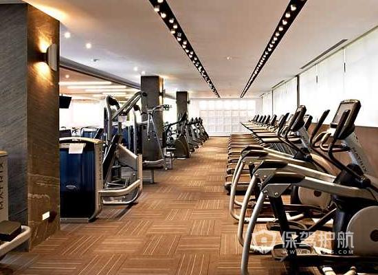 現代簡約風格健身房裝修效果圖