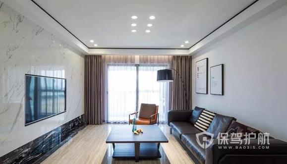三室一廳簡約風格怎樣裝修?110平米三居室簡約風格裝修案例