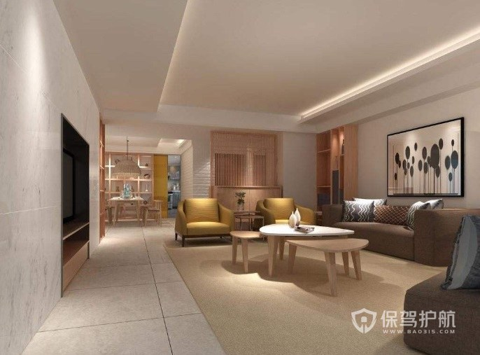 120平米三室一廳如何簡裝?120平米三室一廳簡裝效果圖