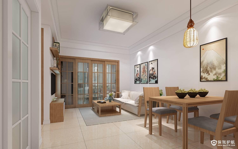 凤凰和润北欧风格一居室装修效果图