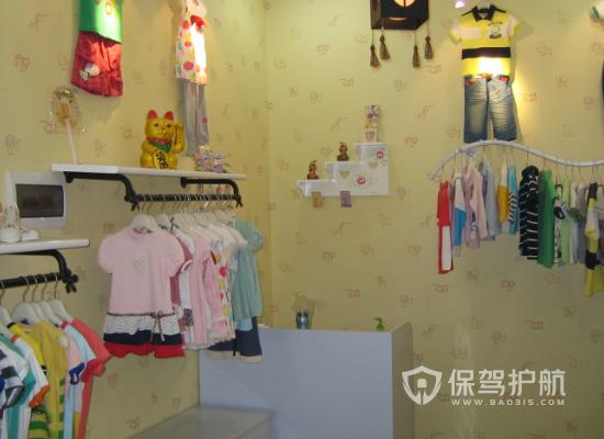 26平米现代风格童装店装修效果图