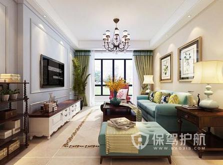 112平米兩室兩廳如何裝修?112平米兩室兩廳美式裝修案例