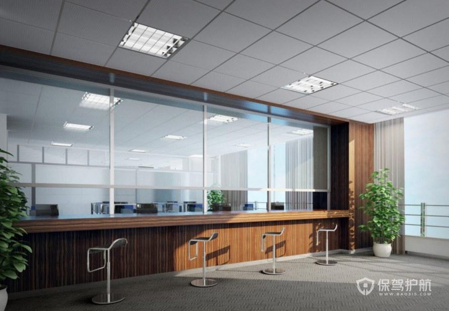 财务办事大厅装修效果图