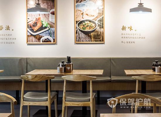 61平米日式风格小吃店装修效果图