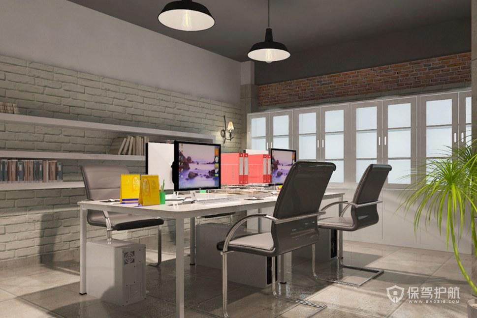 小户型工作室办公区装修效果图