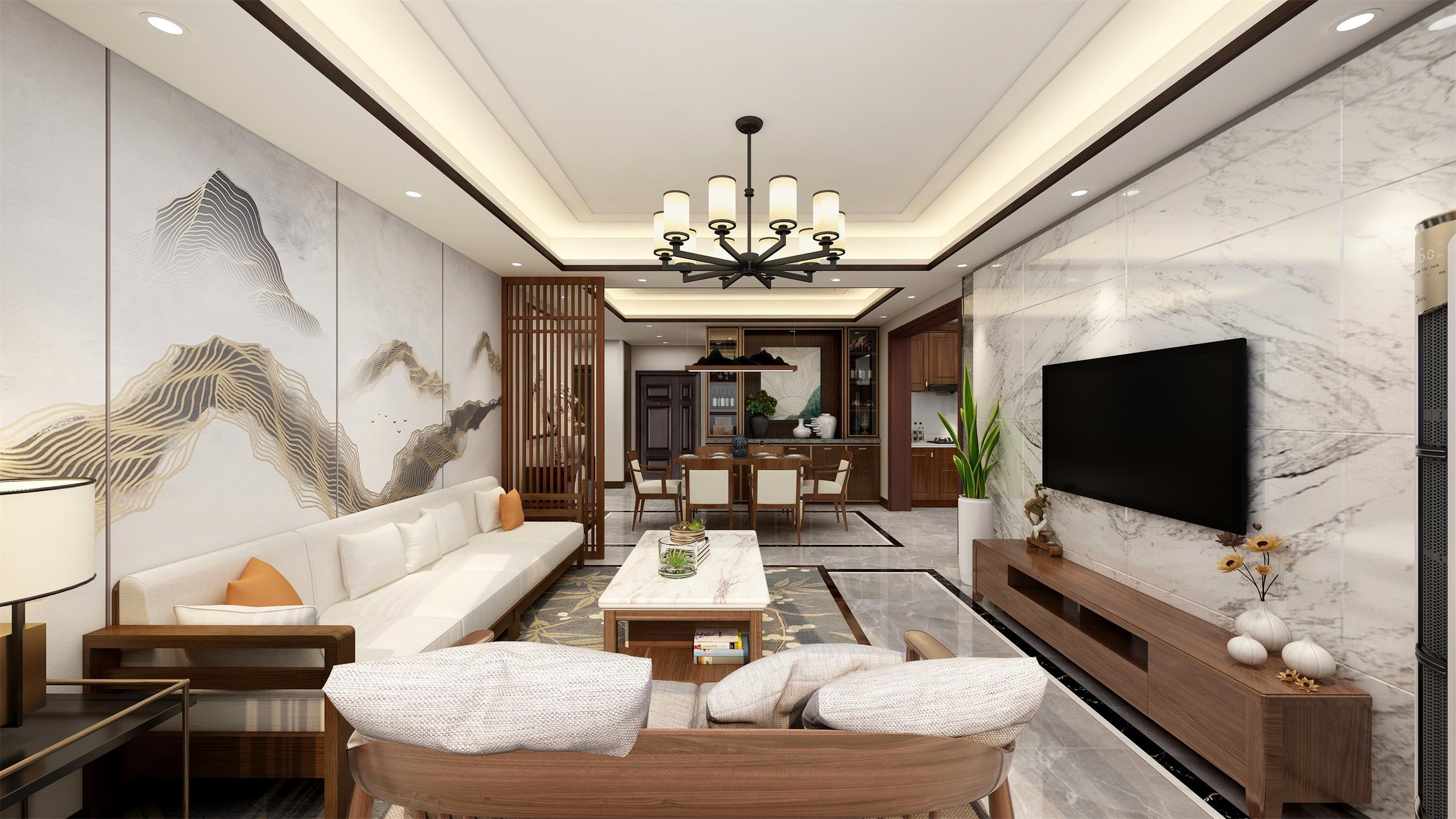 一品雅苑155m²新中式
