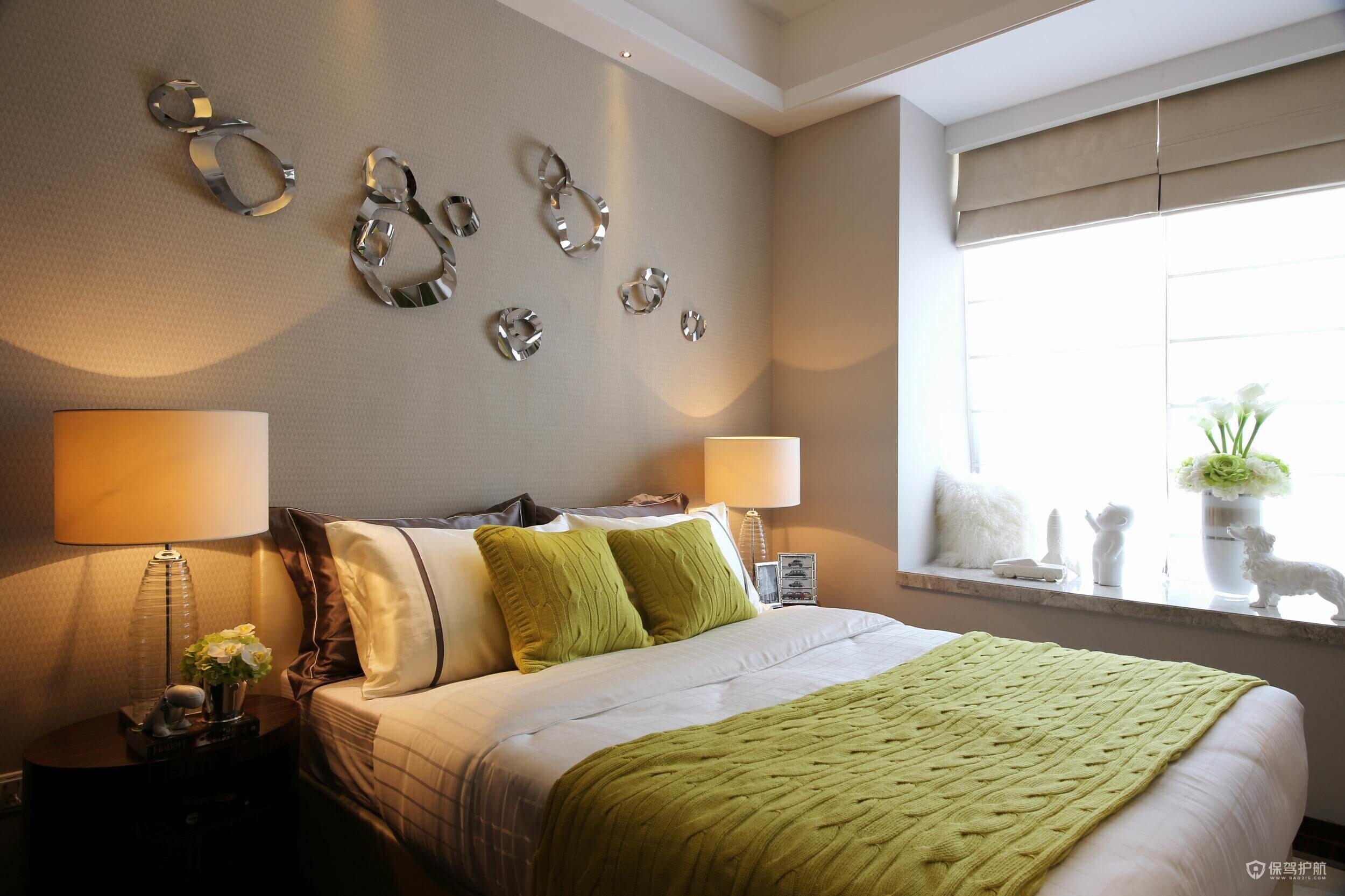 100平新古典風格二居室裝修效果圖