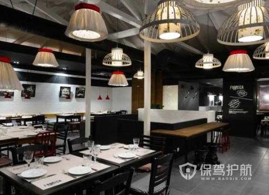 62平米简约风格饭店灯光设计效果图