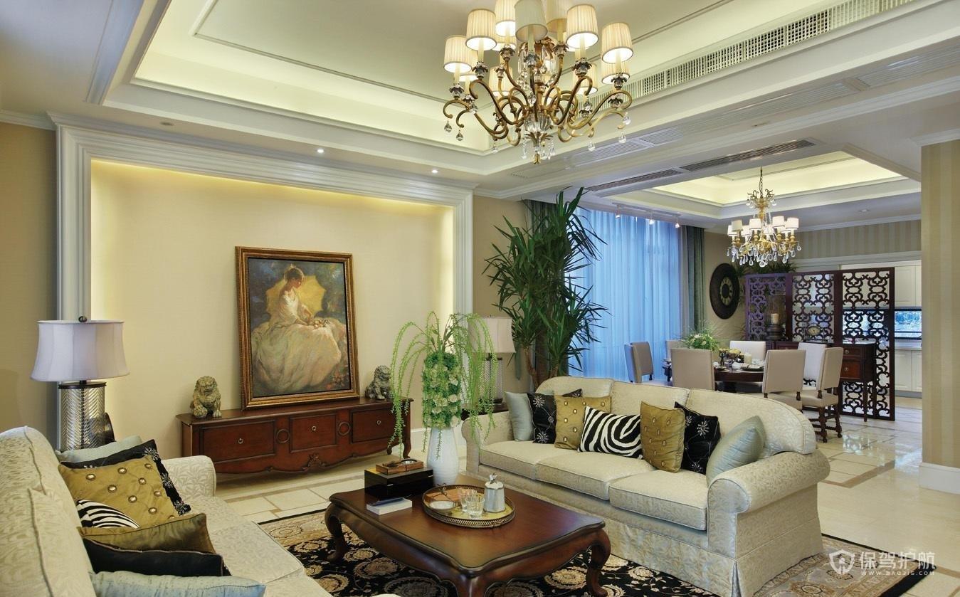 客厅吊顶一般吊几级顶?家装吊顶高度多少合适?