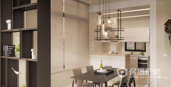 韩式风格如何装修设计?103平米两居室韩式风格装修案例