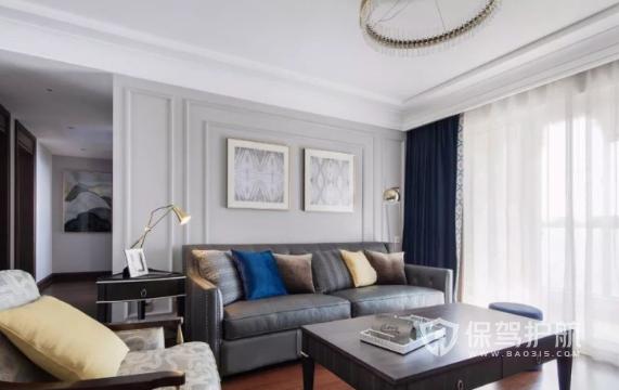 两室一厅美式风如何装修?117㎡两居室美式风格装修案例