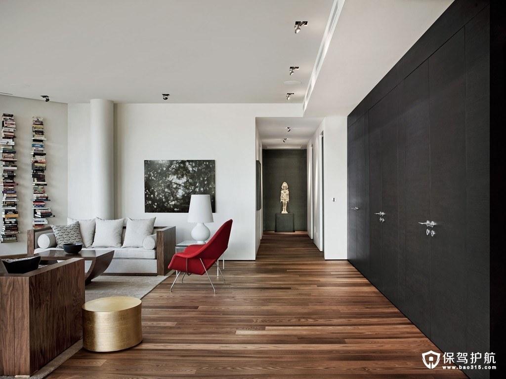 万博汇名邸北欧风格四室两厅装修效…