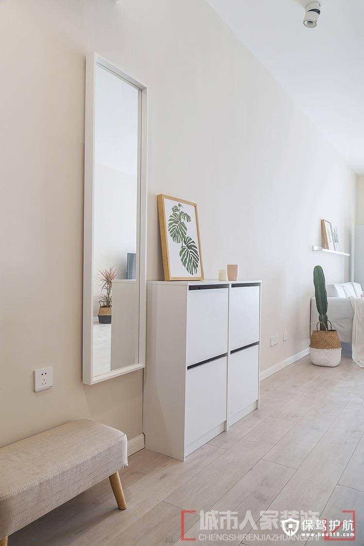 世界冠郡111平北欧风格三居室装修效…