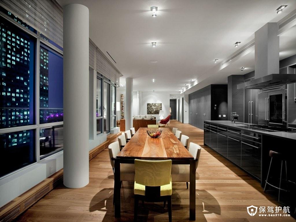 万科城北欧风格四室两厅装修效果图