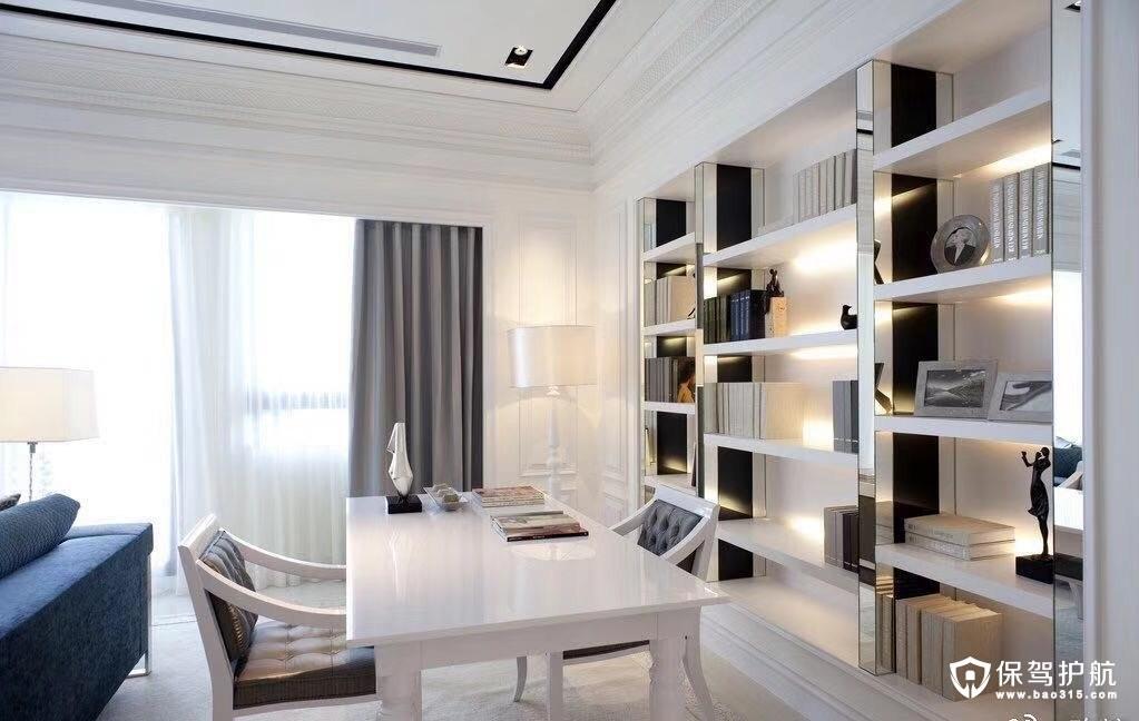当阳东方国际欧式风格三居室装修效果…