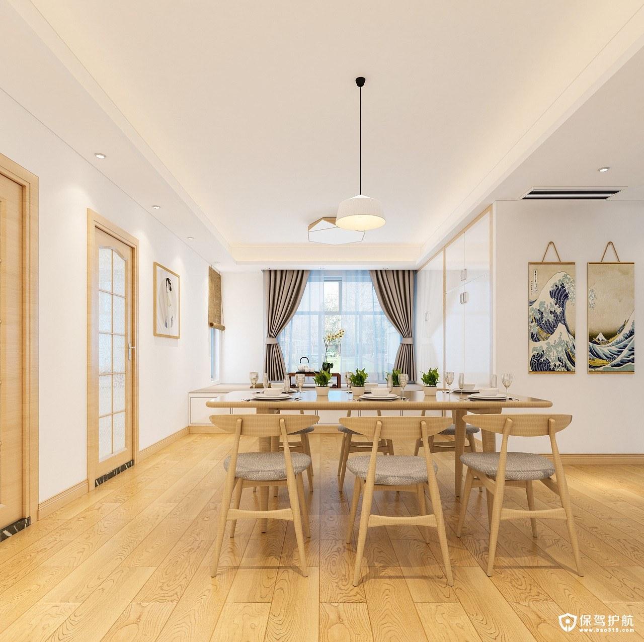 金沙世纪城日式风格三居室装修效果图