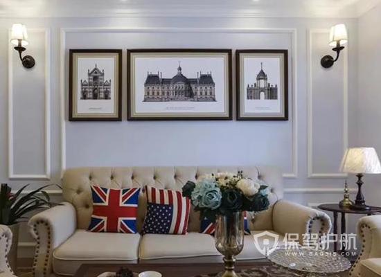 三居室選什么風格好?98平米簡歐風格三居室裝修案例