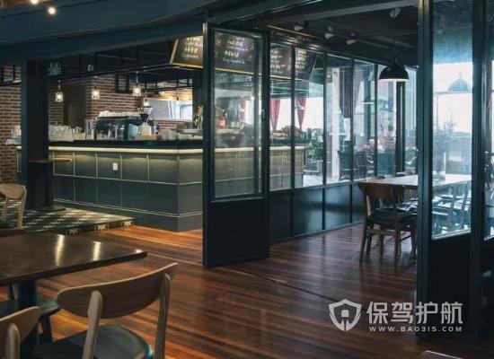 180平米现代风格咖啡馆装修效果图