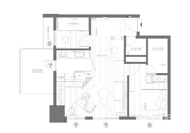 99㎡现代简约,利用层高设计个小阁楼,空间实用且创意!