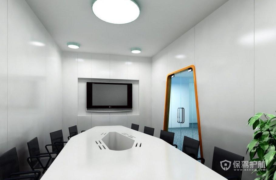 创意办公会议室装修效果图