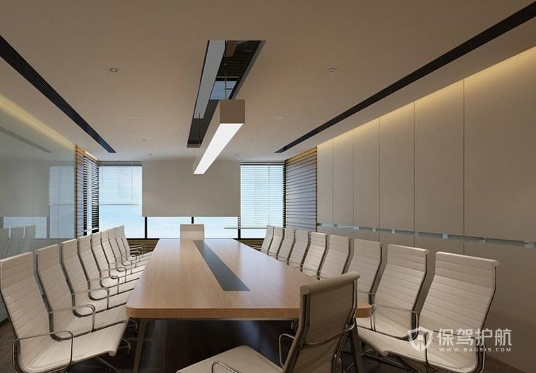 互联网公司会议室装修效果图