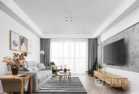 極簡風格家居如何裝修?97平米極簡北歐風格裝修案例