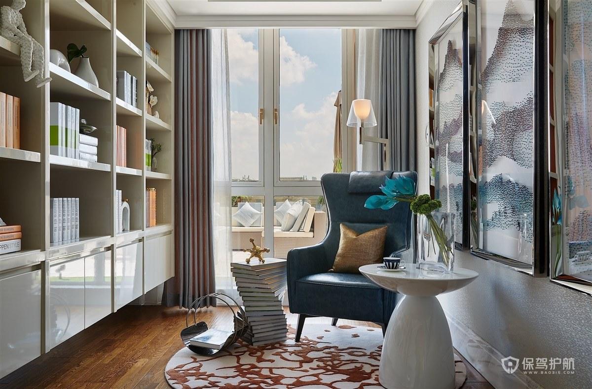 古典风格公寓书房装修效果图