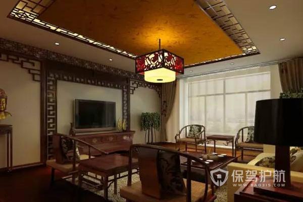 不同風格客廳吊燈怎么選?新中式風格客廳吊燈圖