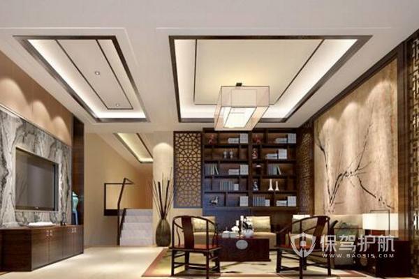 新中式家裝大廳如何裝?新中式家裝大廳效果圖