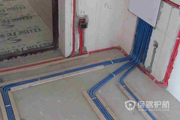 三室一厅电路如何布线?三室一厅电路布线实图