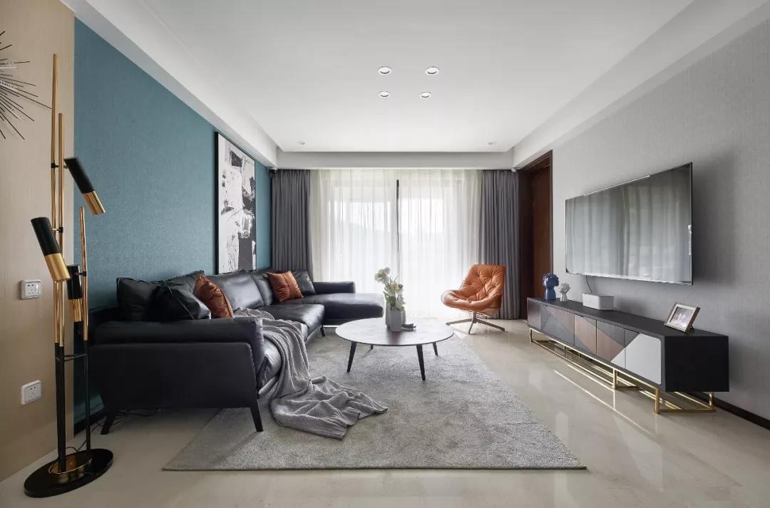 112m²现代轻奢风格,触手可及的幸福感