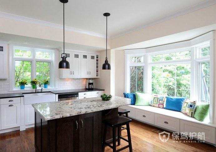 廚房有飄窗如何處理? 廚房的飄窗如何裝修設計?