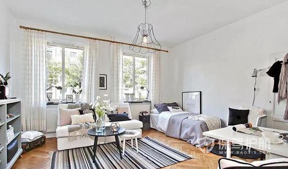 超小戶單身公寓如何裝修?21平米簡約風格蝸居裝修案例