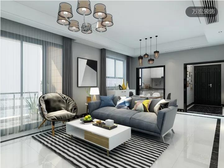 简约风格3居室,平凡生活的最美姿态