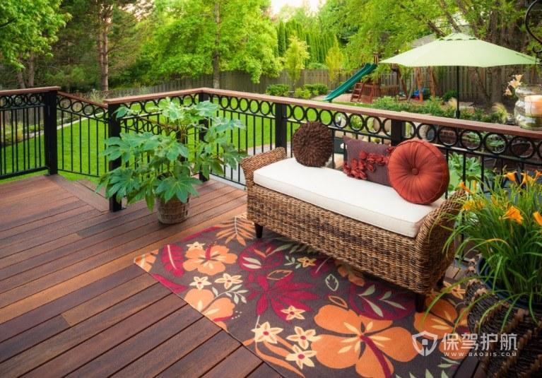 豪華別墅東南亞民族風庭院花園裝修效…