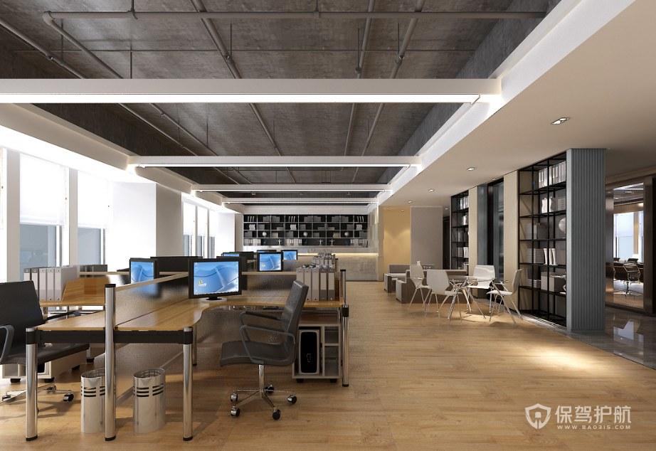 新中式老总办公室装修效果图