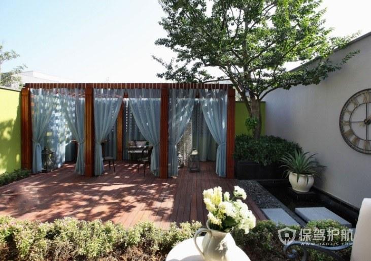 中式古典風別墅庭院花園創意裝修效果…