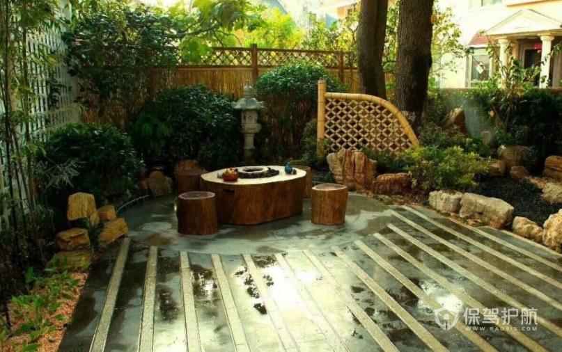 意大利簡約風別墅庭院花園創意裝修效…