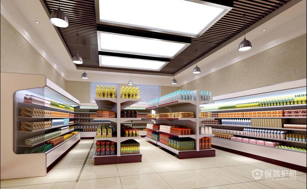 200平米超市怎么布局合理?200平米超市布局圖