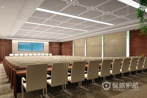 多功能小型会议室怎么装修?多功能小型会议室装修要点