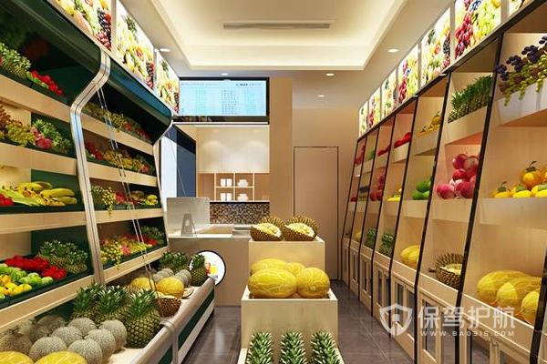 50平米水果店怎么裝修?50平米水果店裝修圖